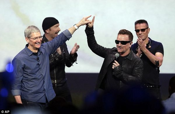 U2/Apple free iTune gift