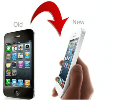 Transition from old iphone to new iPhone