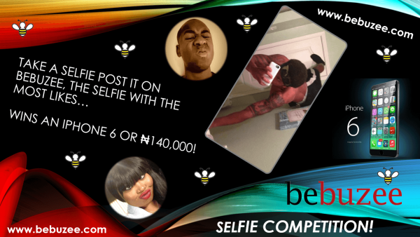 Win an iPhone 6 or $800 Cash Prize on the Bebuzee Selfie Competition