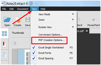 Able2Extract for Complete PDF Management
