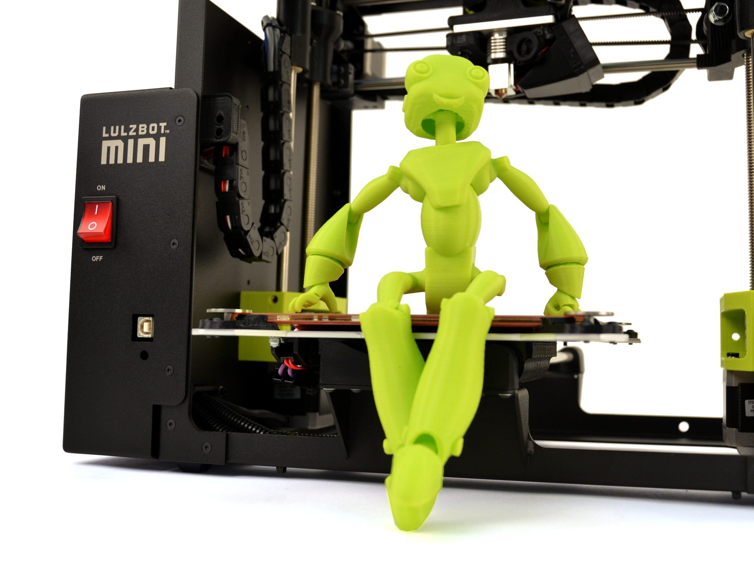 Lulzbot Robot Capture: An example of robotic technologies evolution.