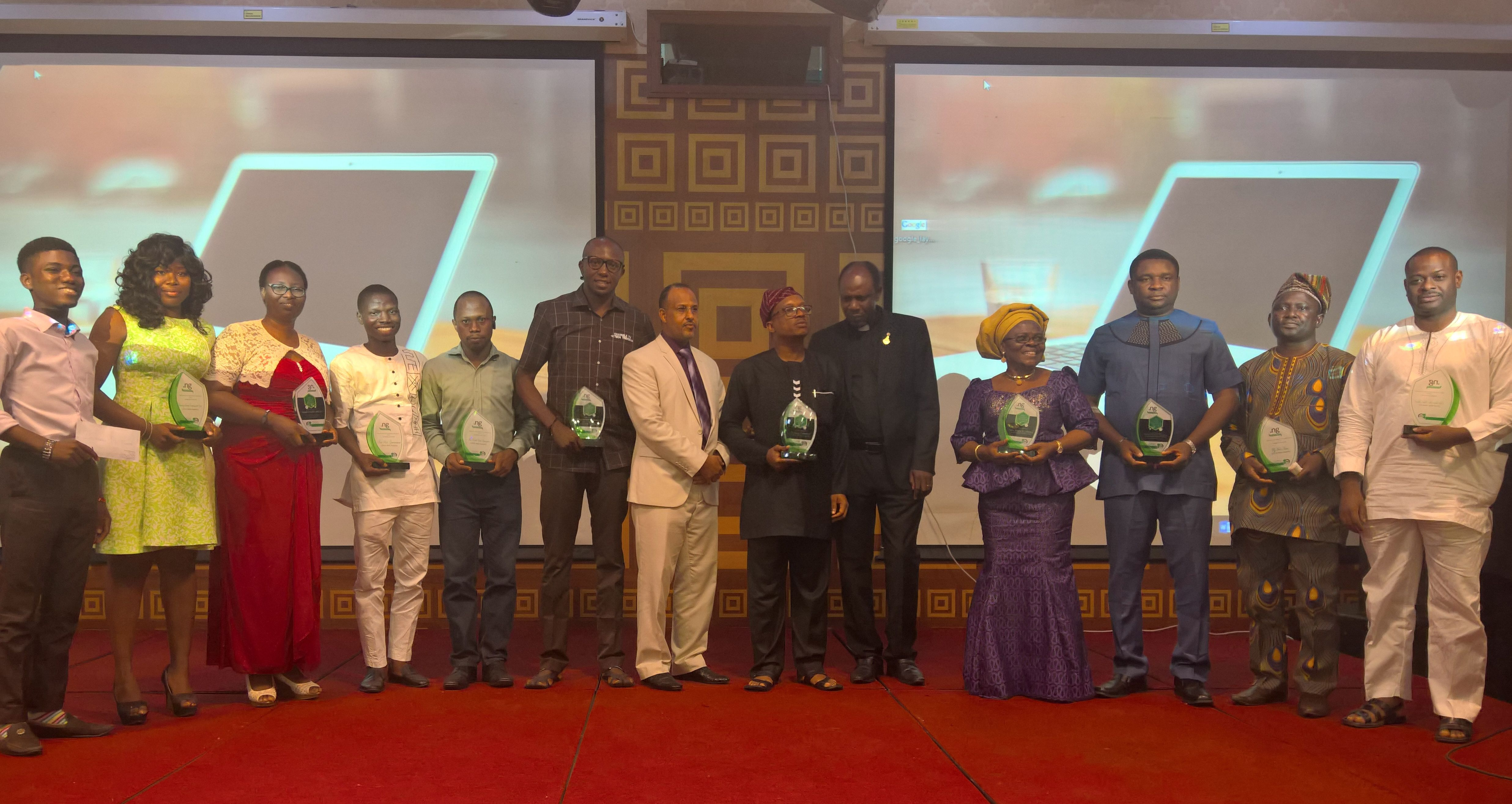 Participants at the NiRA presidential awards 2016