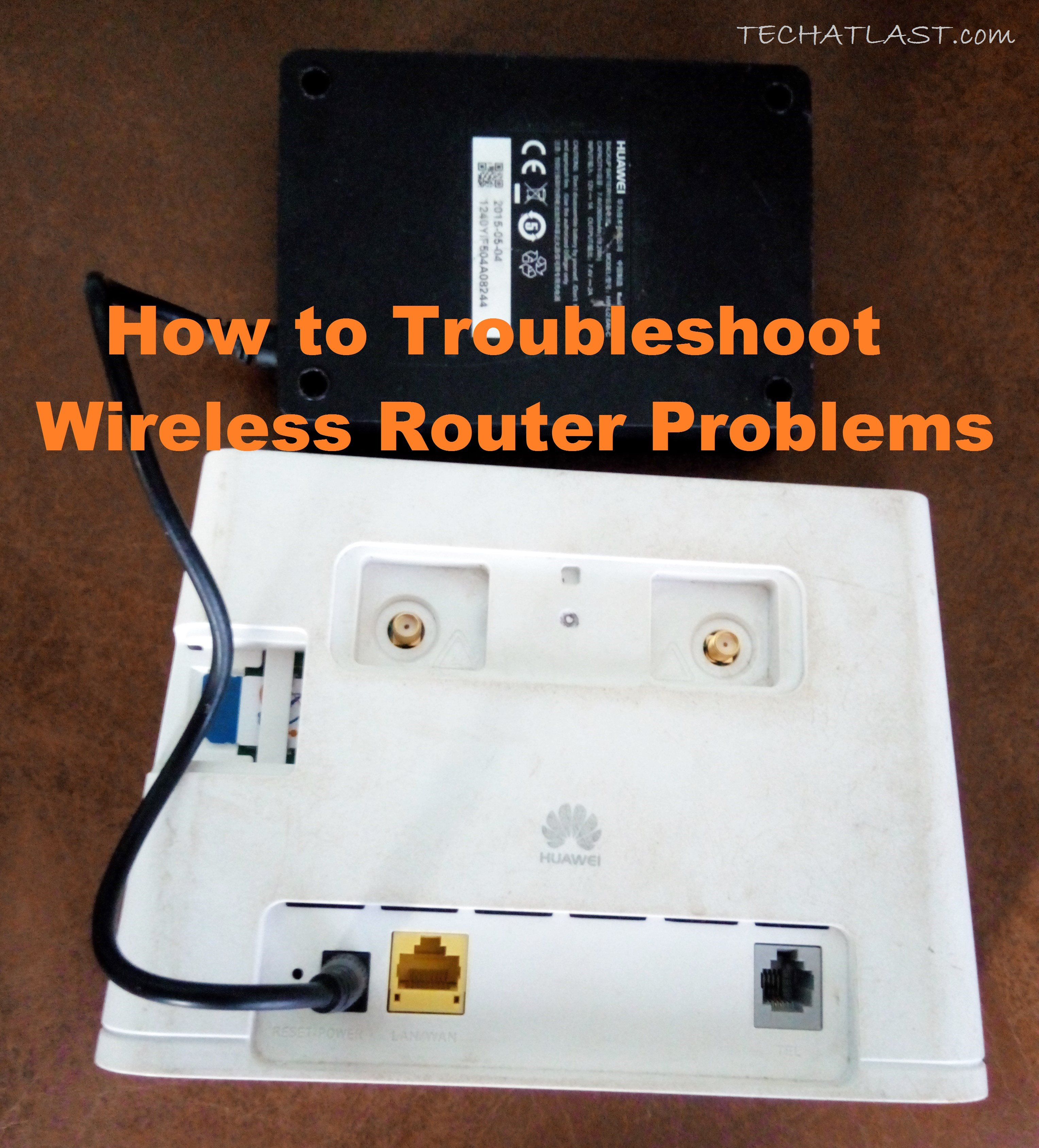 Wireless Router Problems troubleshooting