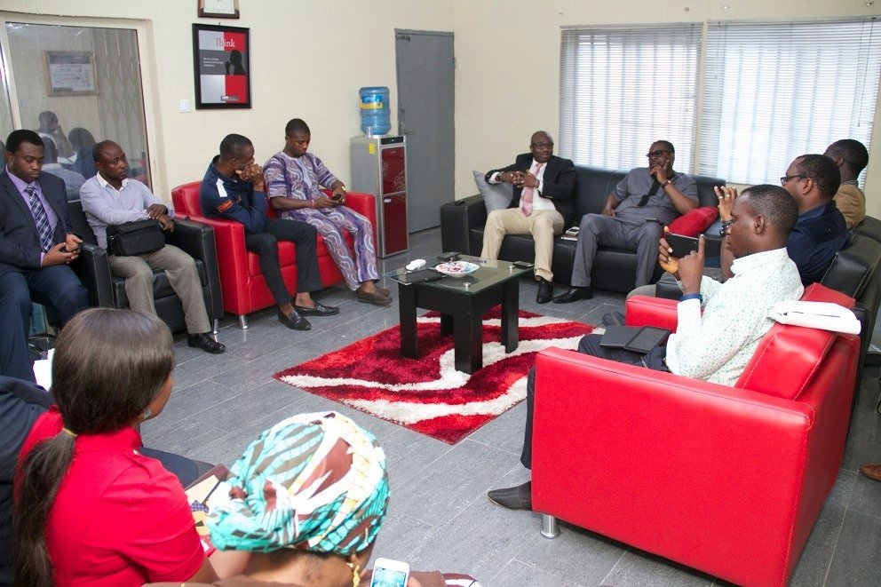 NITDA's Lagos online blogger and media chat took place this Thursday at Oregun in Lagos.