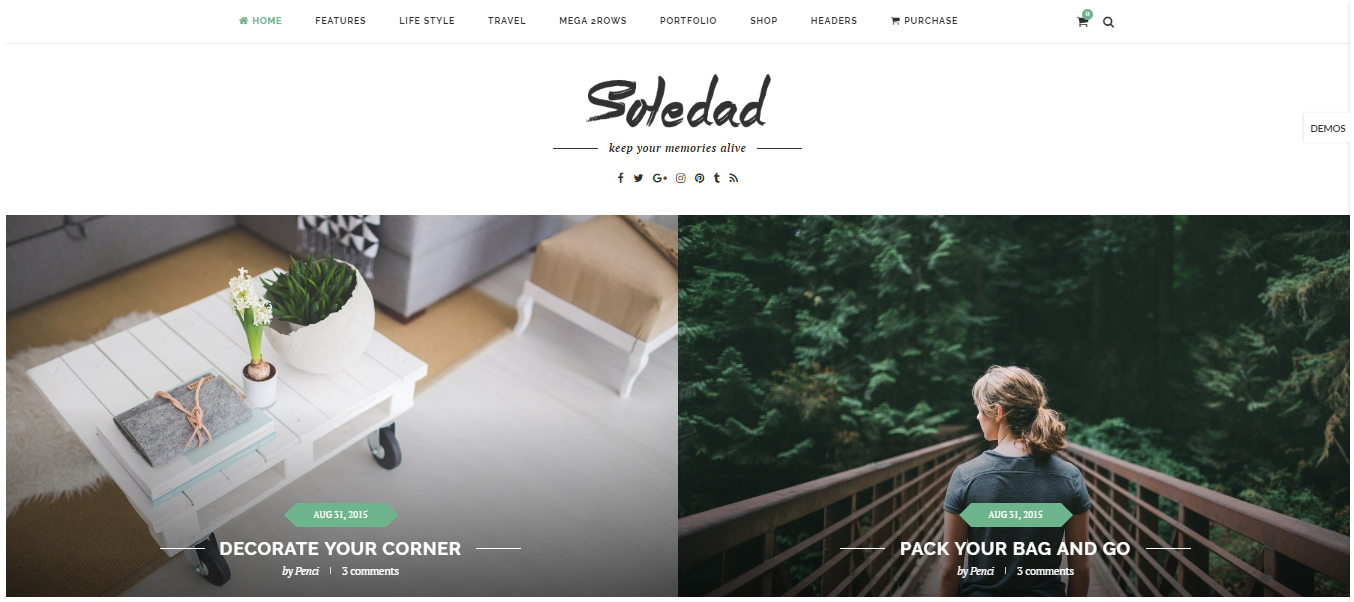 Soledad Best WordPress Theme
