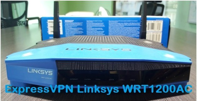 ExpressVPN Linksys WRT1200AC router review.