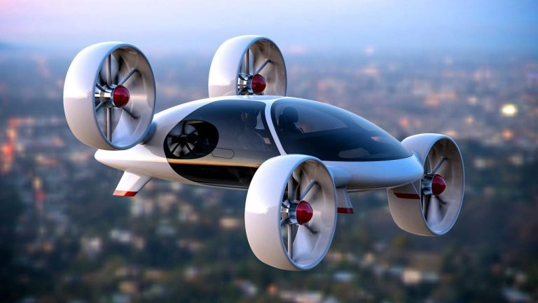 Bartini Aerotaxi: Man's Wheels In the Air while onboard Blockchain Taxi!