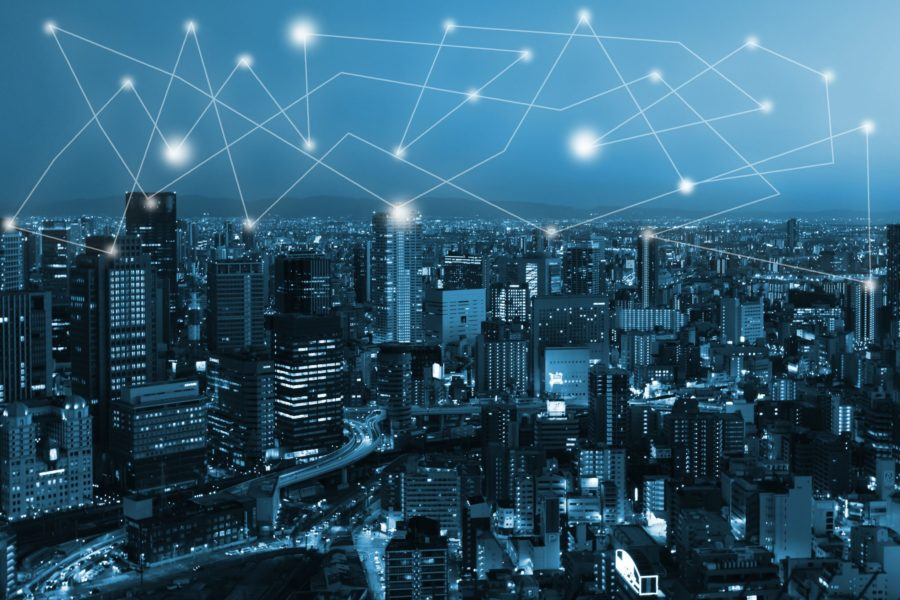 Blockchain powered city of the future