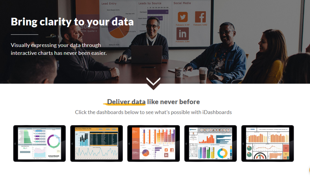 iDashboards - Bring clarity to your data