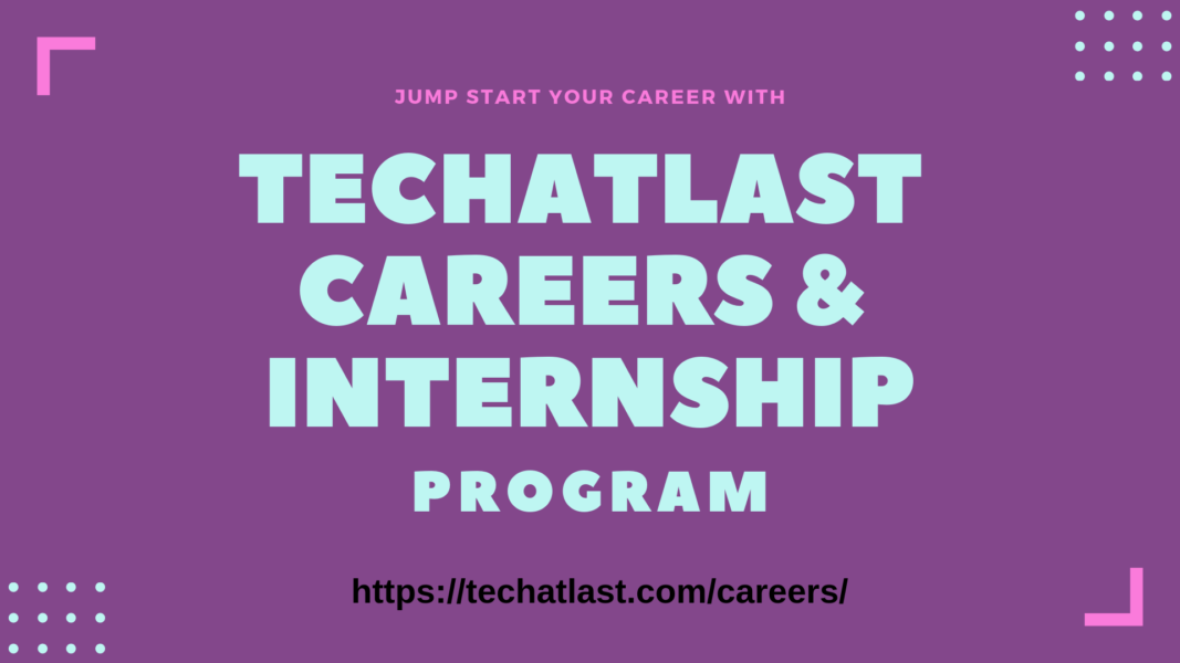 TECHATLAST CAREERS & INTERNSHIP