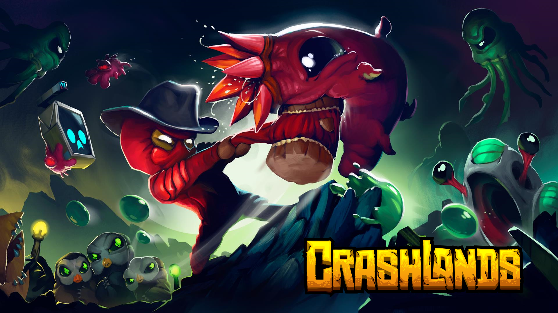CrashLands is one of best free android games you must download.