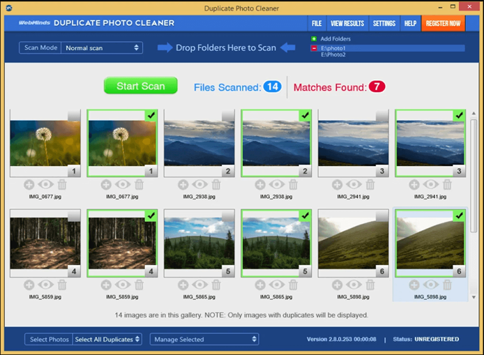 Duplicate Photo Cleaner - Replica Cleaning Suite