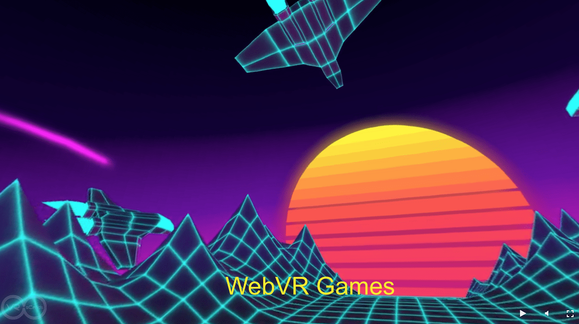3D Design Trends - WebVR games design