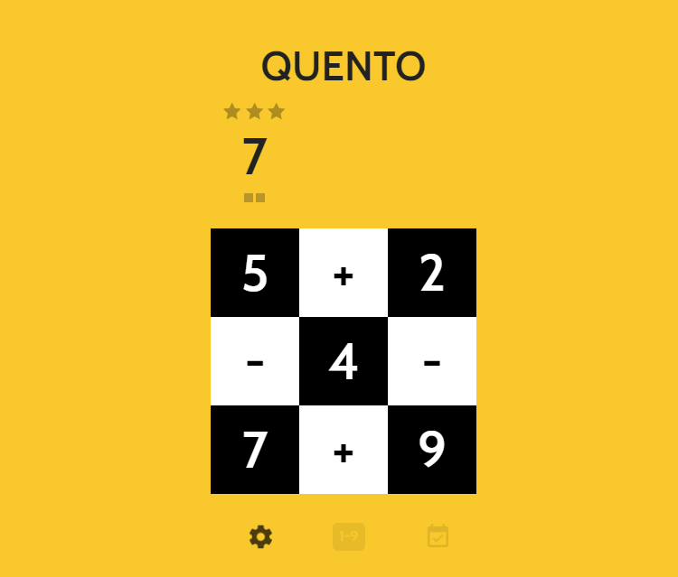 Play Quento without internet on your phone