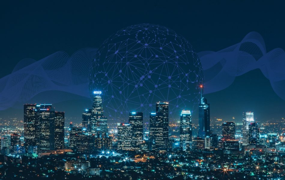 An AI-powered (artificial intelligence) smart city was made possible with power of big data collection and machine learning.