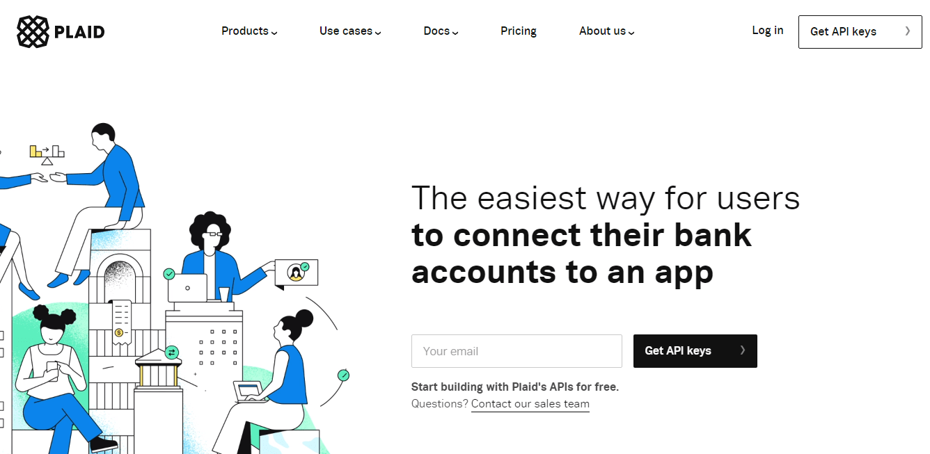Plaid provides developers the right tool to build solutions for connecting customers bank to an app for seamless online payments.