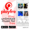 PlayFree mobile app on ios and android playstore