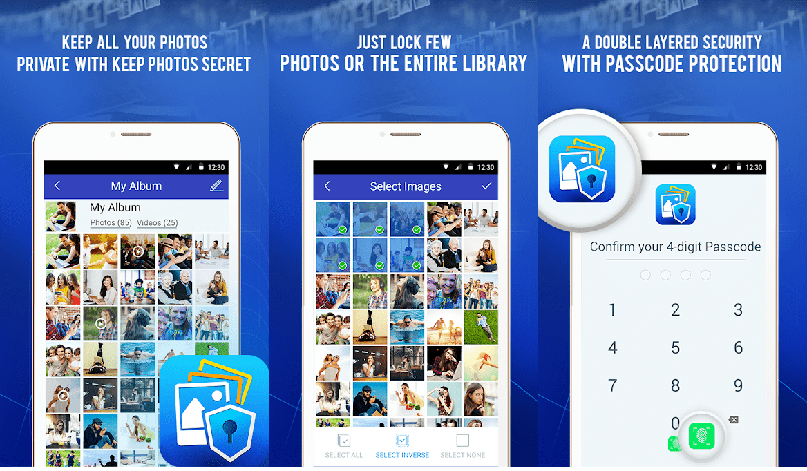 Hide Images on Android with Keep Photos Secret