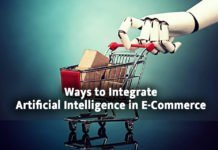 Integration of Artificial intelligence in ecommerce