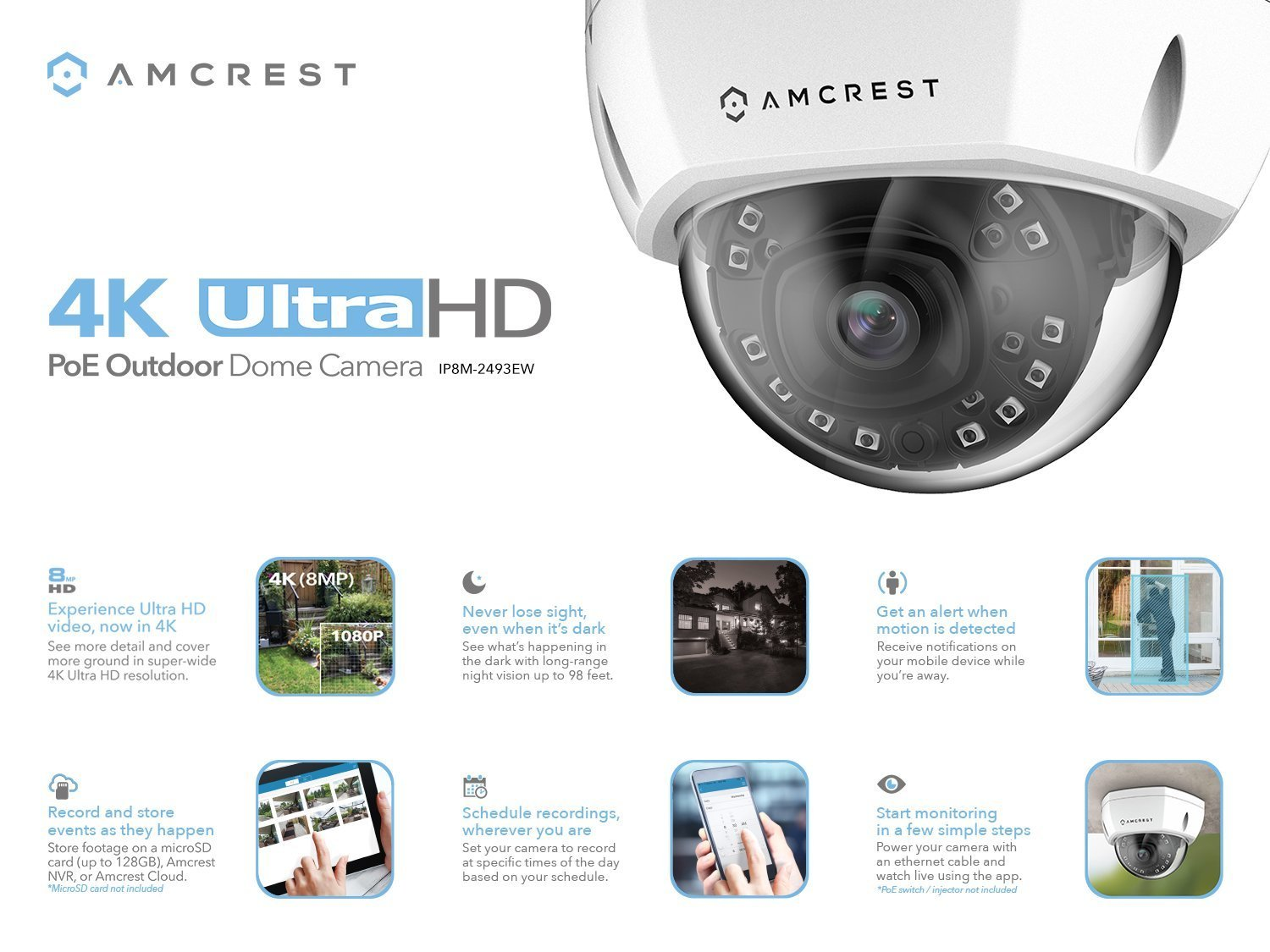 Best security camera AmcrestUltraHD