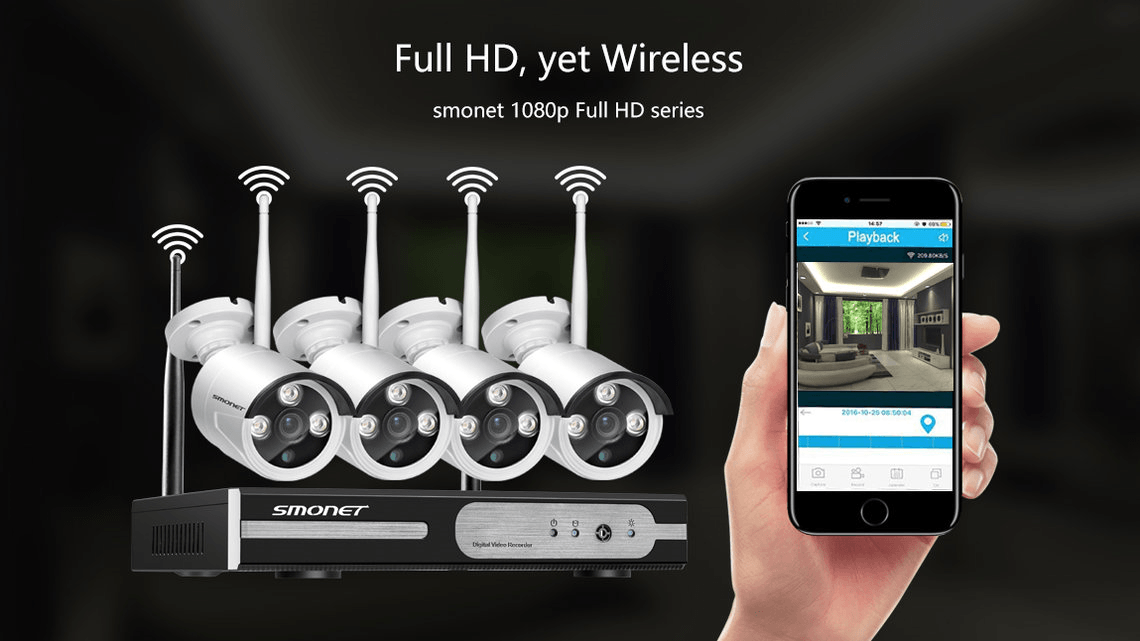 Smonet Wireless Security CCTV - Best security camera