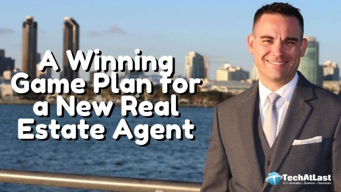 A Winning Game Plan for a New Real Estate Agent