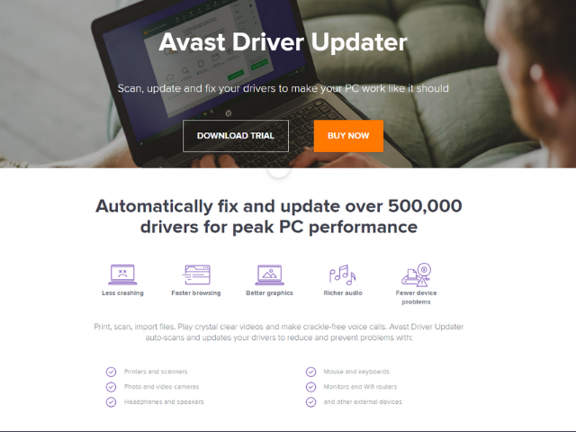 Avast Driver Updater is one of the top trending best software updater for windows