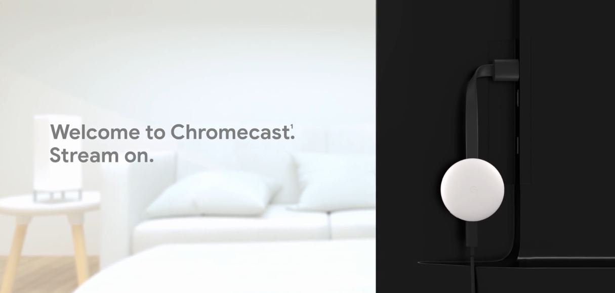 Chromecast stream on