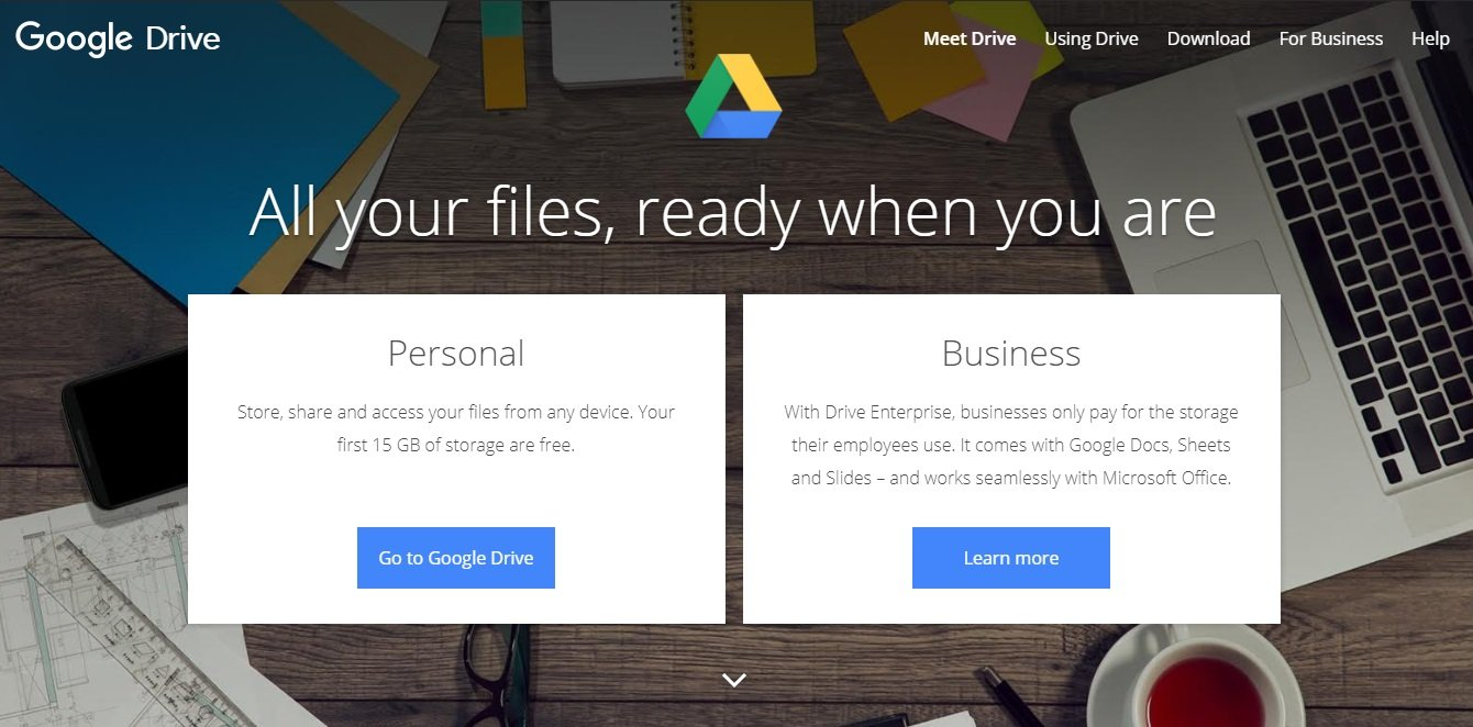 Google Drive Gathers All Your Files in One Place