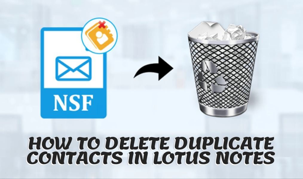 How to Delete Duplicate Contacts in Lotus Notes (How to remove duplicate contacts in Lotus notes)