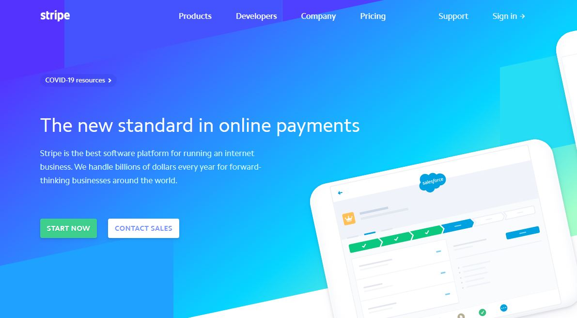 Financial Industry - Indeed, Stripe is a new standard in online payments, thanks to Python programming language