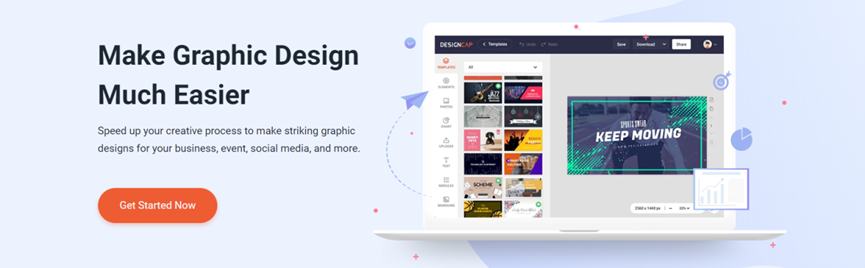 Start your design project with DesignCap